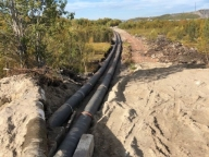 In the Arctic a new pipeline by Svobodny Sokol is ready for work